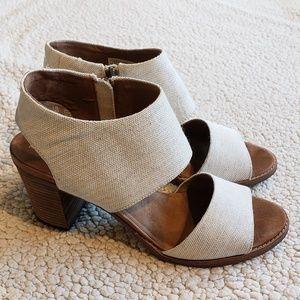 Toms | Majorca | Natural Yarn | Cutout | Heels